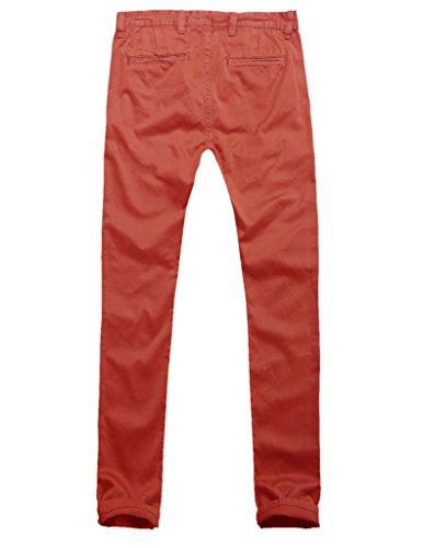 Match Herren Slim Casual Hose #8025 8025 Orange
