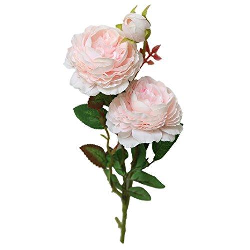 ünstliche Rosenblume Pfingstrose Brautstrauß Hochzeit Home Decor für Home Decor Party Tischdekoration Dekoration Rose ()