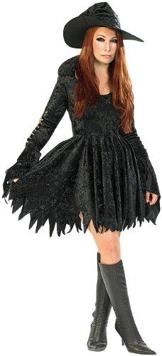 infactory Kostüm Damen: Halloween & Faschings-Kostüm Sexy Hexy, Größe M (Faschings ()