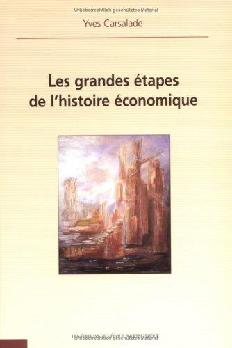 Les grandes étapes de l'histoire économique