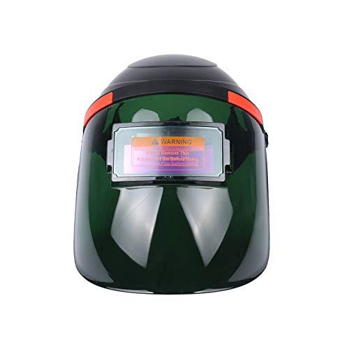 Catherinol Solar Power Auto Darkening Welding Mask/Helm/Schweißer Cap Wide Shade Range 9-13 Stirnband Verstellbarer Gesichtsschutz - Schweißer-cap