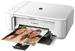 Canon MG 3570 Colour Multifunction Inkjet Printer (White)