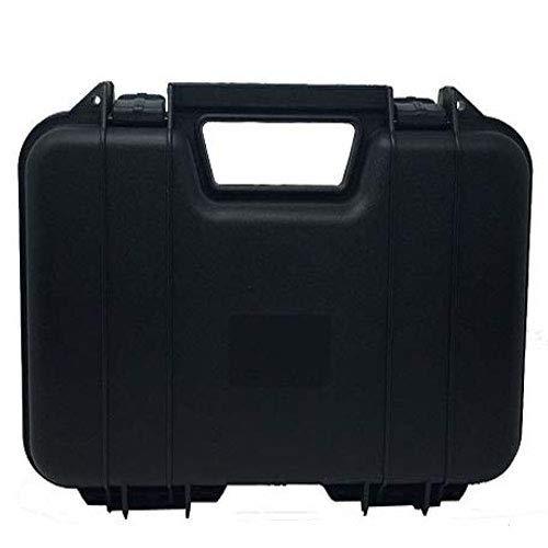 ARSUK Étui à Fusil pour Fusil/Arme à feu/Arme/Pistolet Tactique BB transportant Un étui Rigide Cartouche Carry Slip/Case avec Doublure en Mousse (31cm Cas-Noir)