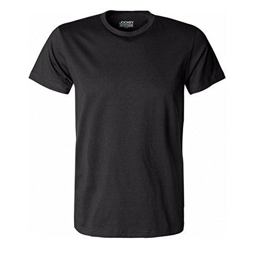 Jockey Herren American T-Shirt USA Originals 2er Pack Schwarz