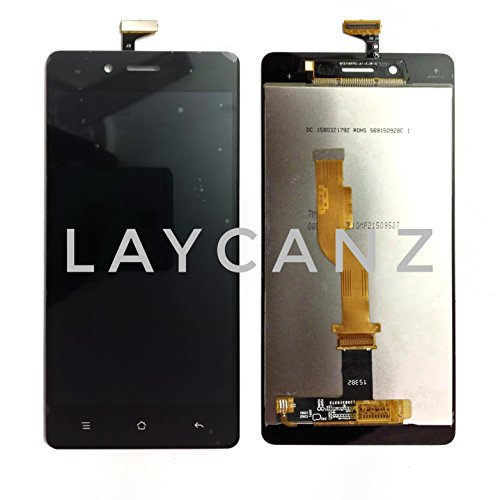LAYCANZ Original.Oppo NEO 7 A33 / A33F Black LCD Display Screen + Touch Screen Glass Digitizer Assembly + Aluminium 5in1 Tools