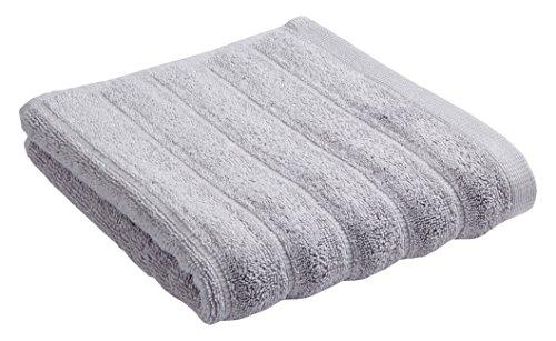 Bianca Cotton Soft BIANCA Baumwolle Weiche Gerippte Handtuch, cremefarben, baumwolle, grau, Handtuch (Baumwolle Bath Sheet)