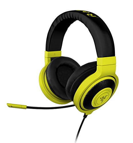 Razer Kraken PRO Over Ear PC and Music Headset - Neon Yellow  available at amazon for Rs.9559