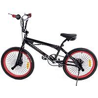 Ridgeyard Bicicleta BMX Free-style 20 pulgadas Rotor 360 °4 clavijas bmx bikes (