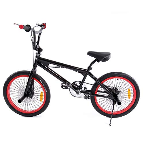 Ridgeyard Bicicleta BMX Free-style 20 pulgadas