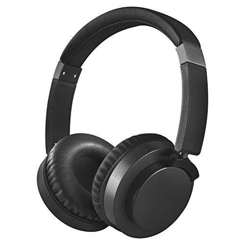 akai cuffie Bluetooth, wireless Bluetooth Connection Cuffie con cancellazione del rumore over-ear Nero