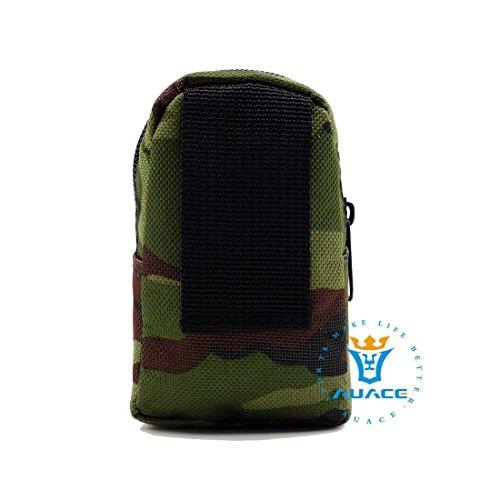 Multifunzione sopravvivenza Gear Tactical marsupio Molle della Epaulet bag, borse da viaggio all' aperto campeggio portatile chiavi portamonete, MC MC