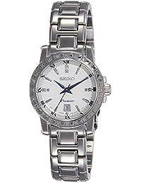 Seiko Damen-Armbanduhr Premier Analog Quarz Edelstahl SXDG57P1