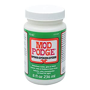 Mod Podge 236 ml Outdoor Waterbase Sealer/ Glue and Finish, Clear