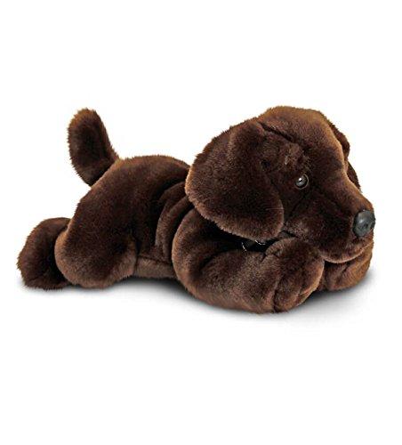 Basil Chocolate Labrador Dog 25cm Soft Toy