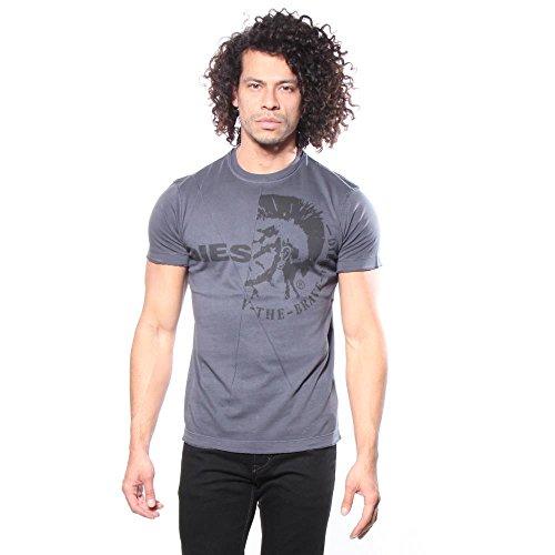 Diesel Herren T-Shirt T-Ulee Midnight Blue