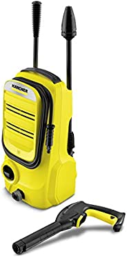 Pressure Washer 110bar, 1400W for Home Cleaning, Karcher K2 Compact