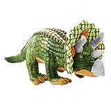 Beppe saurier Peluche Grande Dinosaurio de Peluche XXL Ideales de Peluche Regalo Dinosaurios Triceratops niedliches Peluche para niños y bebé Cojín de Peluche cojín