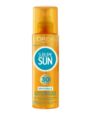 L'Oréal Paris Spray Invisible Protection Solaire FPS 30 200 ML