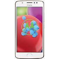 Smartphone Motorola Moto E4 (12,7 cm (5 Douane) Afficher, 2 Go de RAM/16 Go, Android) Rougir