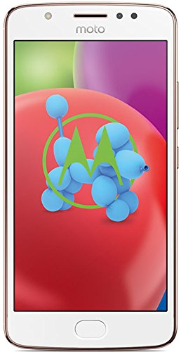 Motorola Moto E4 Smartphone (12,7 cm (5 Zoll) Display, 2 GB RAM/16 GB, Android) blush gold