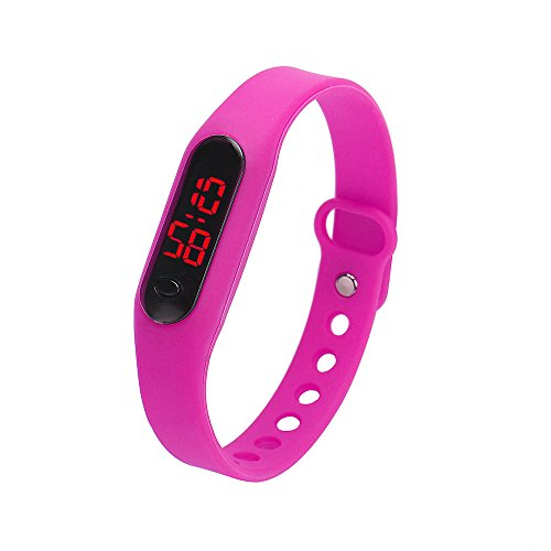 Skang Digitale Armbanduhr, Outdoor Laufen wasserdichte Uhren, LED-Licht Sportuhr Für Frauen und Männer Teenager Jungen Mädchen(one Size,D)
