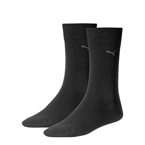 PUMA Herren Classic Casual Business Socken 12er Pack=12 Paar (39/42, Schwarz)
