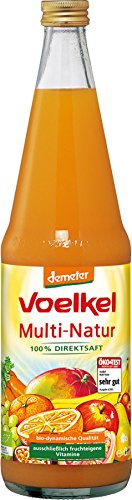 Voelkel Bio Multi Natur - 100% Direktsaft (1 x 700 ml)