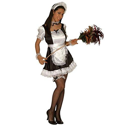 NET TOYS Costume da cameriera sexy domestica donna delle pulizie - L 46/48