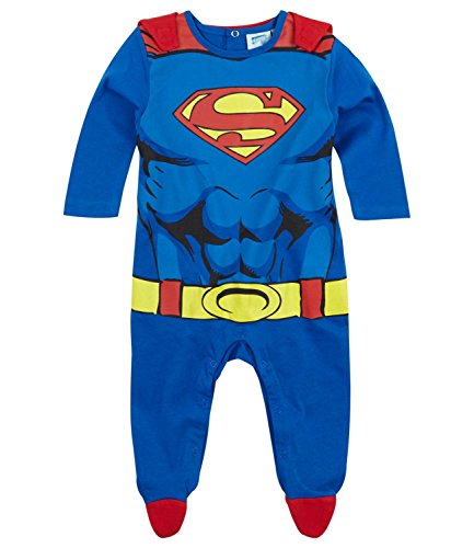 SUPERMAN BABIES PELELE   AZUL   86