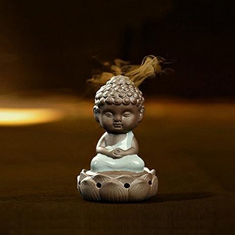 Debon en forme de petit bouddha GE et Ru four four four four brûleur d
