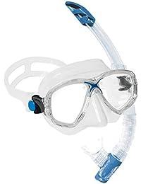 Cressi Set Taucherbrille und Schnorchel Marea Vip
