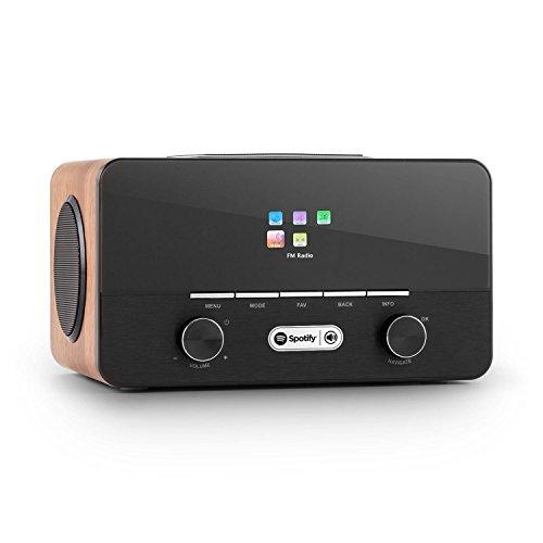 auna-connect-150-wn-21-internetradio-wlan-kuchenradio-spotify-connect-dab-wifi-aux-usb-sd-slots-dual
