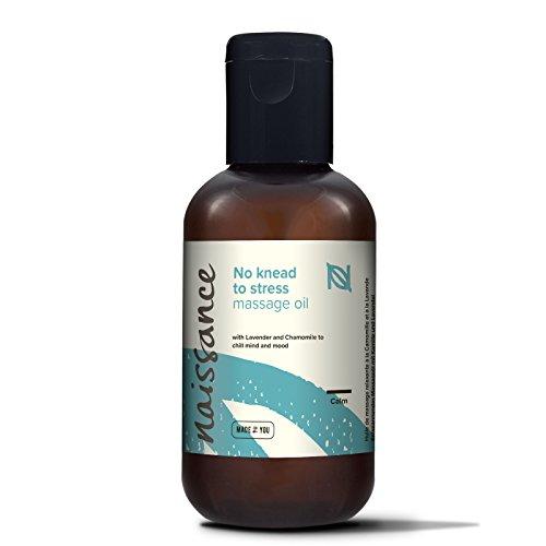 Naissance Olio da Massaggio Rilassante 100ml, Miscela naturale al 100% di olio...