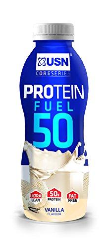 USN Protein Fuel 50 6 x 500ml Vanilla
