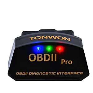 obd2 bluetooth diagnoseger t tonwon obdii scanner elm327. Black Bedroom Furniture Sets. Home Design Ideas