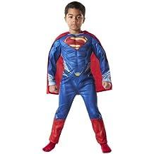 Rubies 3 886505 - Superman - El hombre de acero - pecho musculoso, Tamaño: L