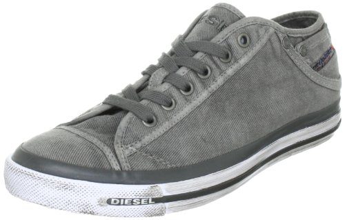 Diesel Exposure Low 1 Y00321 PS752, Herren Sneaker, Grau (Gunmetal T8080), EU 44 (Low Exposure Sneaker)