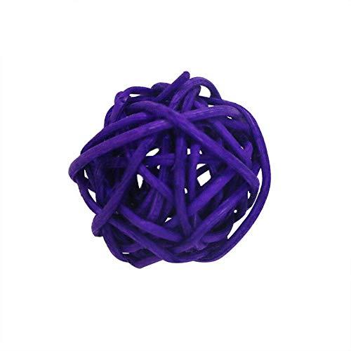 Kesheng 20 Piezas Bolas ratán decoración jarrones