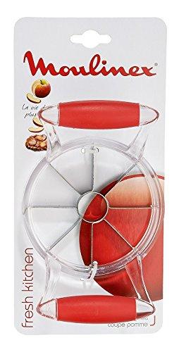 Tefal Accessoires 1998608 Fresh Kitchen Coupe Pomme Plastique/Inox Rouge 6 x 12 x 25 cm