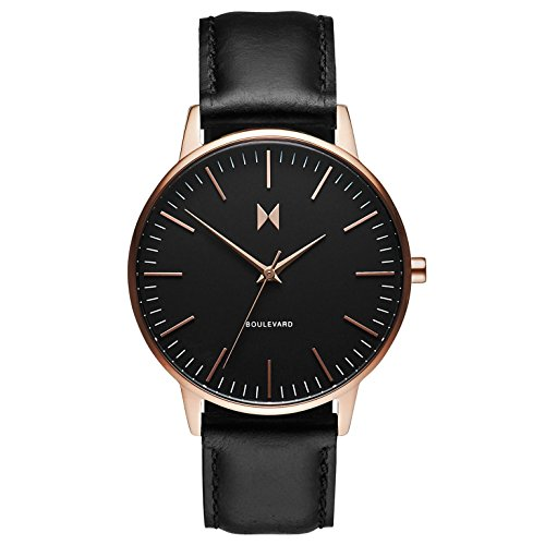 MVMT Damen Analog Quarz Uhr mit Leder Armband D-MB01-RGBL