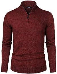45616691b4 Amazon.it: maglione lana - Rosso / Maglioni, Cardigan & Felpe / Uomo ...