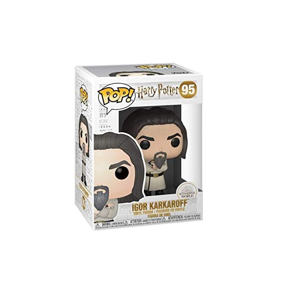 Funko Pop Igor Karkaroff Baile de Navidad (Harry Potter 95) Funko Pop Harry Potter