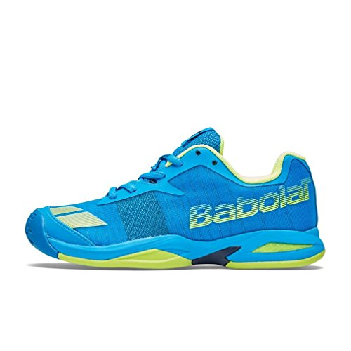 Babolat Jet All Court Junior Scarpe Tennis Scarpe Sportive Scarpe da Tennis Blue, Nero, 34