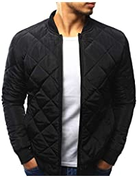 Abrigo de Invierno para Hombre Cálido Slim Fit Grueso Chaqueta Informal Prendas de Abrigo Top Blusa