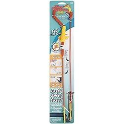 Drain Weasel [Anfänger-Set für die Abflussreinigung - Werkzeug zur Beseitigung von durch Haare verstopfen Abflüssen - für Dusche, Waschbecken, Badewanne WC Haarentfernung