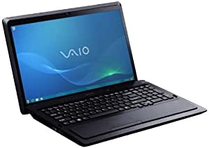 Sony Vaio F23S1E/B 41,6 cm (16,4 Zoll) Notebook (Intel Core i7 2670QM, 2,2GHz, 8GB RAM, 750GB HDD, NVIDIA GT 540M, Blu-ray, Win 7 HP) schwarz