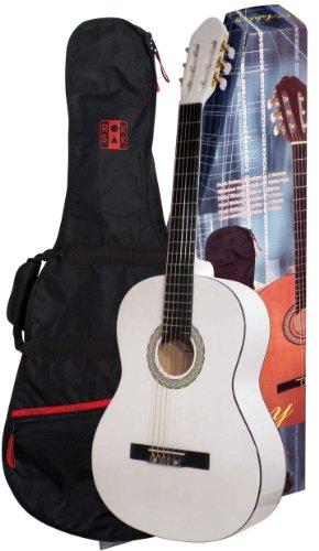 ashley-guitarra-clasica-con-juego-de-bolsa-blanco-4-4-para-a-partir-de-aprox-16-anos