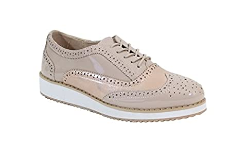 By Shoes - Chaussure Avec Plateforme Style Richelieu - Femme