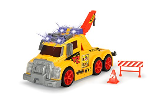 Dickie Toys 203308359 - Action Series Tow Truck, Abschleppwagen, 33 cm