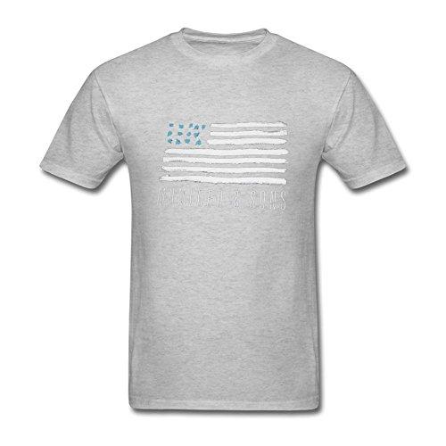 UKCBD Herren T-Shirt Gr. L, Grau - Grau
